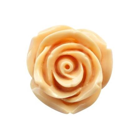 Roosje apricot geel 12mm