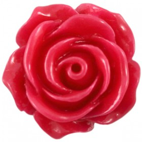 Roosje Bright roze 15mm