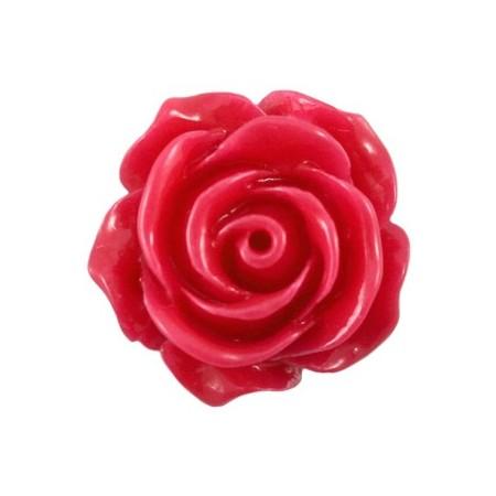 Roosje Bright roze 15mm