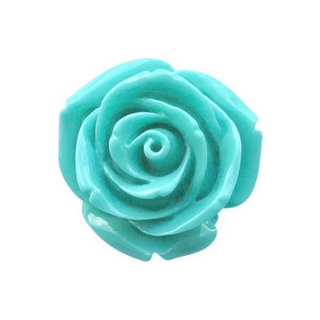 Roosje Pacific blauw 15mm