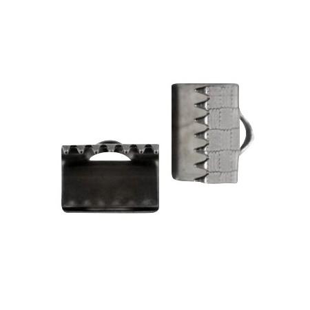 DQ Veterklem 10mm gunmetal