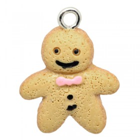 Resin Charm Ginger Bread Man