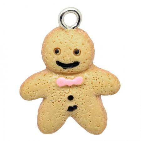 Resin Charm Ginger Bread Man