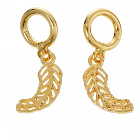 Lovabi Pendant leaf Gold Plated