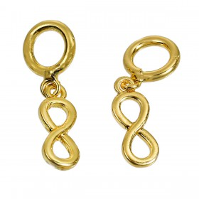 Lovabi Pendant infinity Gold Plated