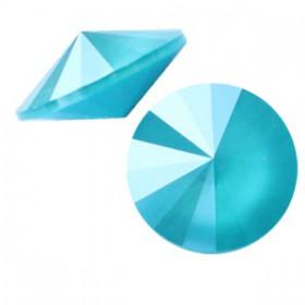 Swarovski 1122 Rivoli 12 mm puntsteen Crystal azure blue