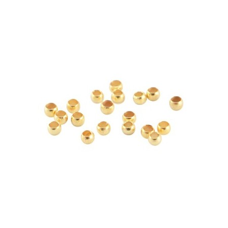DQ knijpkraaltjes 2mm Goud
