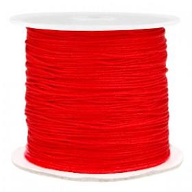 Macramé draad 0.7mm Fiery red