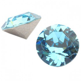 Swarovski SS 39 puntsteen (8 mm) Aquamarine blue