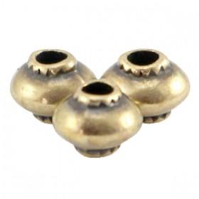 DQ metaal kraal cone Antiek brons (nikkelvrij)