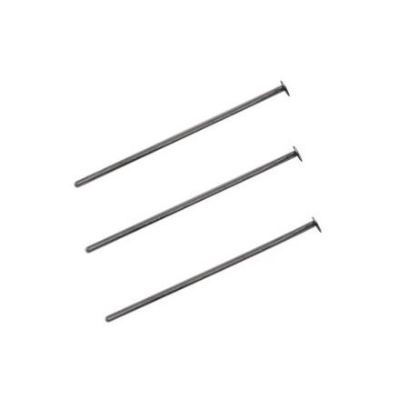 DQ metalen nietstiften 25mm Antraciet (nikkelvrij)