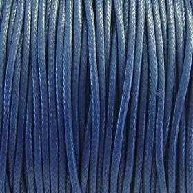 Nylon waxkoord 1mm crimsonsblauw
