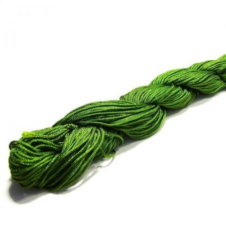 Shamballa koord olijf groen