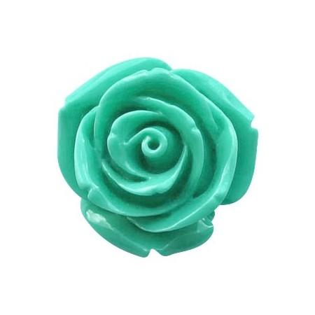 Roosje Pacific turquoise groen 15mm