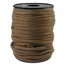 Paracord 4mm Dark brown