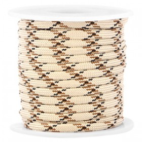 Paracord 4mm Light beige-brown
