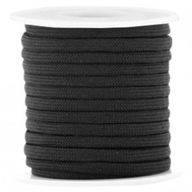 Paracord 4mm Black