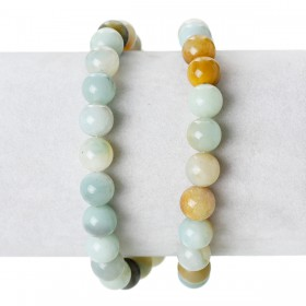 Half edelsteen Amazonite 8mm