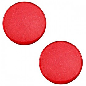 7 mm platte cabochon Super Polaris Jester red