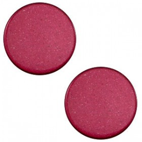 7 mm platte cabochon Super Polaris Velvet purple
