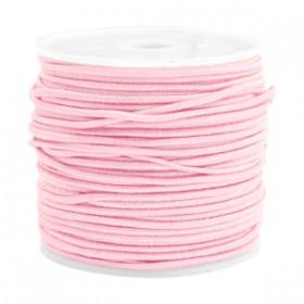 Gekleurde elastische draad 1.5mm Light rose