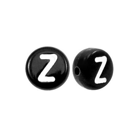 Acryl letterkraal rond Z zwart
