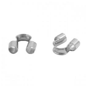 DQ draadbeschermer 5mm Antiek zilver (nikkelvrij)