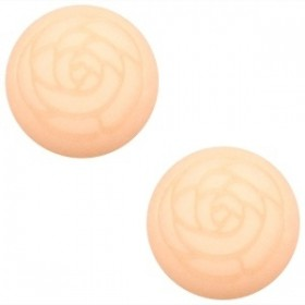 Cabochon Polaris 20mm matt roos Light peach