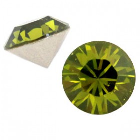 Swarovski Elements SS39 puntsteen (8mm) Olivine green