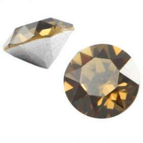 Swarovski Elements SS39 puntsteen (8mm) Smokey quartz brown