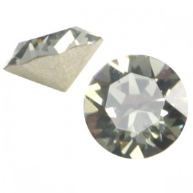 Swarovski PP32 puntsteen (4.0mm) Black diamond