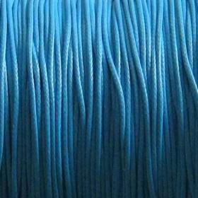 Nylon waxkoord 0.5mm blauw