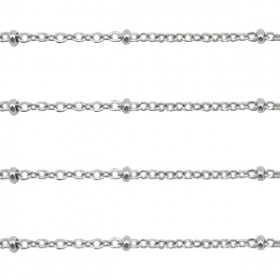 RVS Ketting 1.4mm Zilver