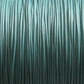 Nylon waxkoord 0.5mm lichtblauw