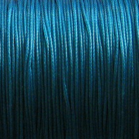 Nylon waxkoord 0.5mm blue zircon