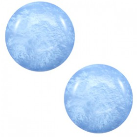 7 mm classic cabochon Polaris Elements Mosso shiny River blue