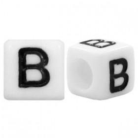 Acryl letterkraal vierkant B