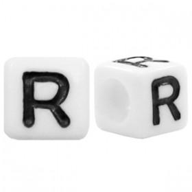Acryl letterkraal vierkant R