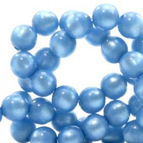 Super Polaris kralen rond 6 mm River blue