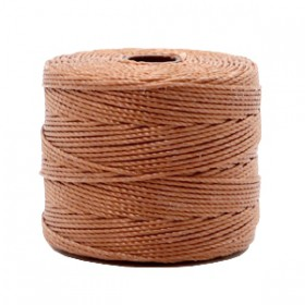 Nylon S-Lon draad 0.6mm Copper brown