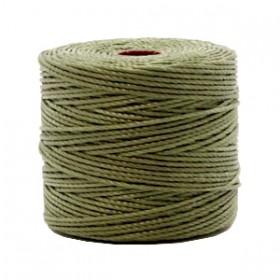 Nylon S-Lon draad 0.6mm Olive green