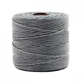Nylon S-Lon draad 0.6mm Grey