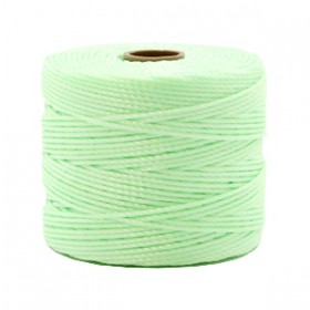 Nylon S-Lon draad 0.6mm Pastel mint green