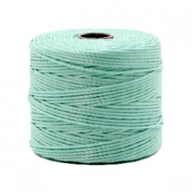 Nylon S-Lon draad 0.6mm Turquoise