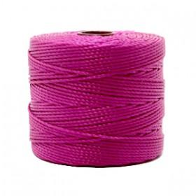 Nylon S-Lon draad 0.6mm Magenta purple
