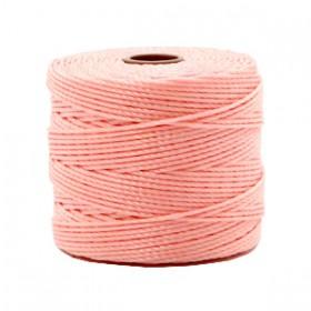 Nylon S-Lon draad 0.6mm Candy pink