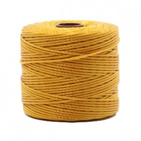 Nylon S-Lon draad 0.6mm Golden yellow