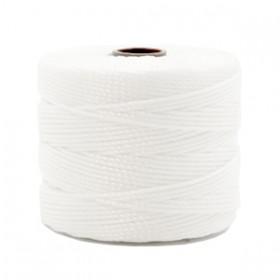 Nylon S-Lon draad 0.6mm White