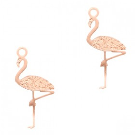Bohemian hanger flamingo Rosegold