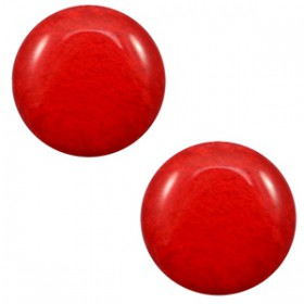 7 mm classic cabochon Polaris Elements Mosso shiny Candy red